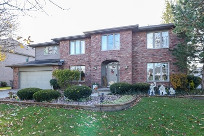 Orland Park Single Family Home For Sale: 7907 Braeloch Court