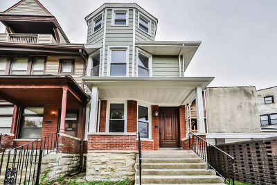 Chicago Single Family Home For Sale: 1313 East Hyde Park Boulevard