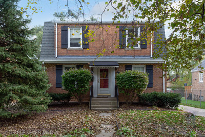 Evergreen Park Single Family Home Price Change: 9337 South Clifton Park Avenue
