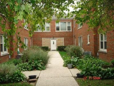 Oak Park Condo/Townhouse For Sale: 1329 North Harlem Avenue #3
