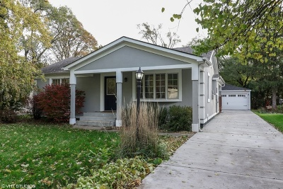 Palos Heights Single Family Home Contingent: 12023 South 72nd Court