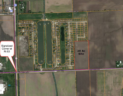 Wilmington Residential Lots & Land For Sale: 100 Wilmington-Peotone Road