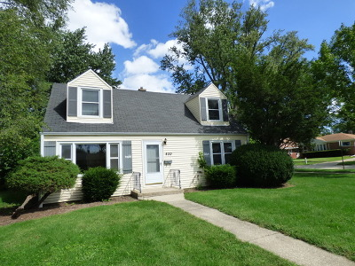 Mount Prospect Single Family Home For Sale: 400 West Walnut Street