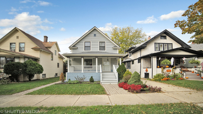 Berwyn Single Family Home For Sale: 3234 Clarence Avenue
