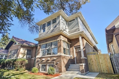 Chicago Single Family Home New: 4923 North California Avenue