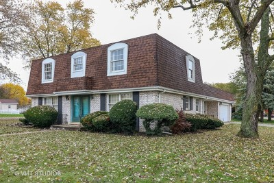 Palos Heights Single Family Home For Sale: 12921 South Ridgeland Avenue