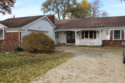 Kankakee Single Family Home For Sale: 1245 West Lotus Lane