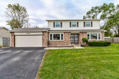 Wheeling Single Family Home For Sale: 403 Jefferson Court