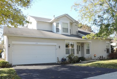 North Aurora Condo/Townhouse For Sale: 194 Lilac Lane