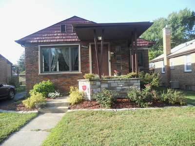 Evergreen Park Single Family Home For Sale: 3636 West 99th Street
