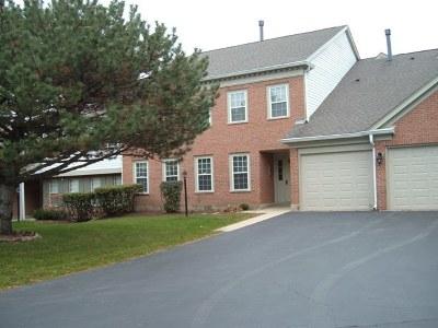 Schaumburg Condo/Townhouse For Sale: 1302 Woodside Court #D1