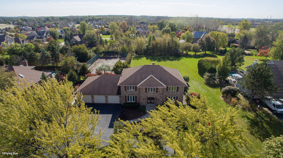 Orland Park Single Family Home Price Change: 25 Country Manor Lane