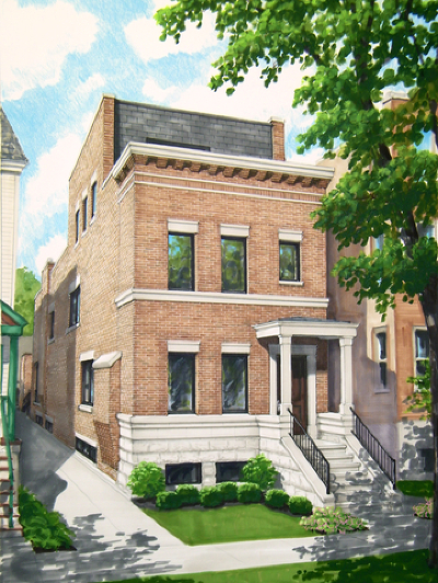 Chicago IL Single Family Home New: $2,300,000