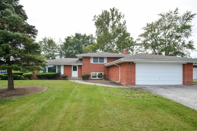 Palos Heights Single Family Home Price Change: 6711 West Shiawassie Drive