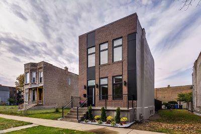 Bronzeville Single Family Home For Sale: 3804 South Wabash Avenue