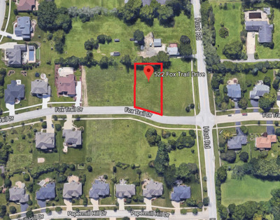 Kane County Residential Lots & Land For Sale: 522 Fox Trail Drive