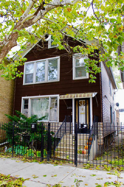 Chicago Multi Family Home For Sale: 2351 West Ohio Street
