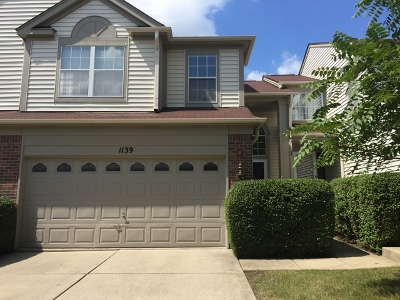 Naperville Condo/Townhouse For Sale: 1139 Wickfield Court #1139