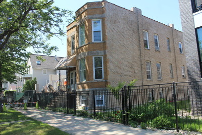 Chicago Multi Family Home Contingent: 2418 West Lyndale Street