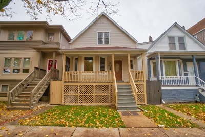 Single Family Home For Sale: 3515 West School Street