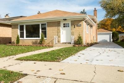 Niles Single Family Home Price Change: 8453 North Ottawa Avenue