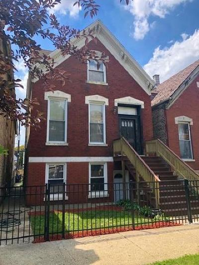 Chicago Multi Family Home For Sale: 918 North Mozart Street