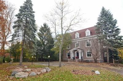 Wilmette Single Family Home For Sale: 336 Sheridan Road