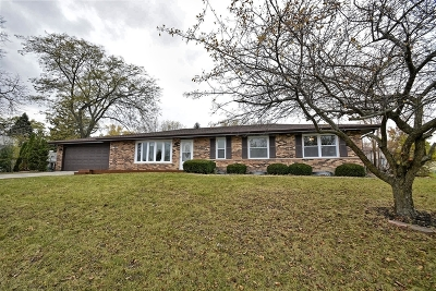 Tinley Park Single Family Home Contingent: 16632 Ridgeland Avenue