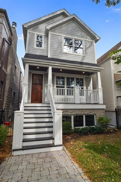 Single Family Home For Sale: 1840 West Nelson Street