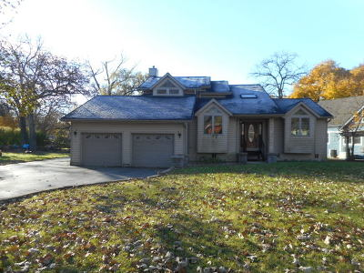 Crystal Lake Single Family Home For Sale: 4309 Bay View Drive
