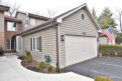 Glen Ellyn Condo/Townhouse For Sale: 804 Saddlewood Drive
