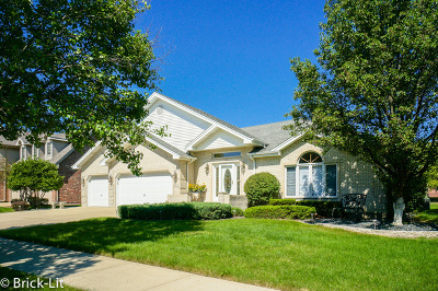 Tinley Park Single Family Home For Sale: 8112 Mallow Drive