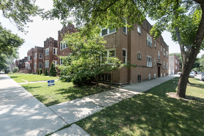 Condo/Townhouse For Sale: 3805 West Roscoe Street #1W
