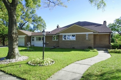 Lincolnwood Single Family Home For Sale: 7125 North East Prairie Road