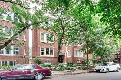 Condo/Townhouse For Sale: 1518 West Rosemont Avenue #3W