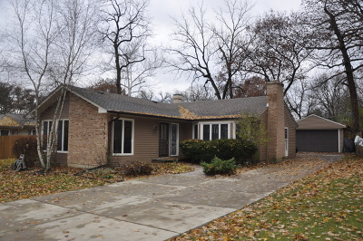 Palatine Single Family Home For Sale: 2304 North Barrington Woods Road
