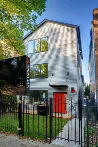 Chicago Single Family Home For Sale: 1726 West Huron Street