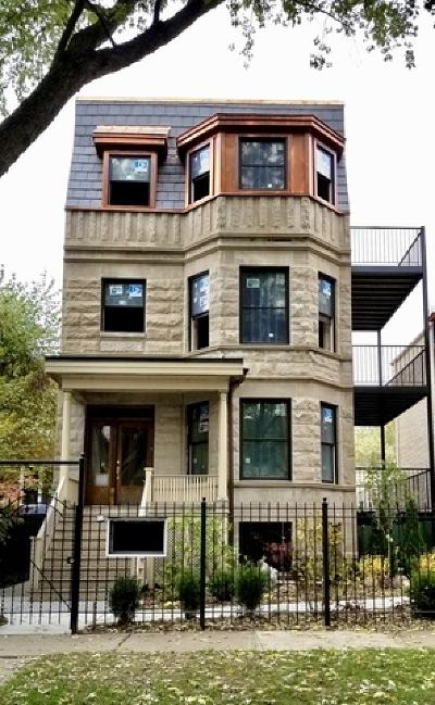 Condo/Townhouse For Sale: 1254 West Winnemac Avenue #3S