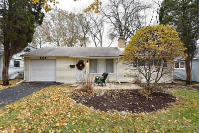 Wheaton Single Family Home For Sale: 123 North Woodlawn Street