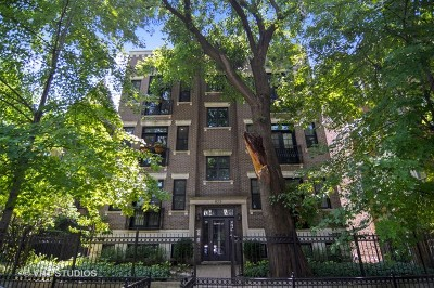 Condo/Townhouse For Sale: 823 West Wolfram Street #3E