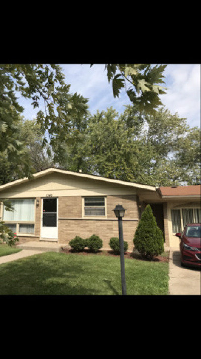 South Holland Single Family Home For Sale: 1240 East 156th Street