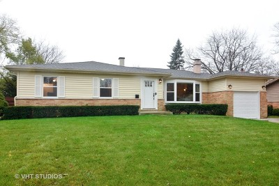 Palatine Single Family Home For Sale: 1327 East Norman Drive