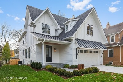 Du Page County Single Family Home For Sale: 135 North Willow Road