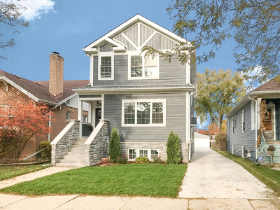 Chicago Single Family Home For Sale: 6149 North Nassau Avenue