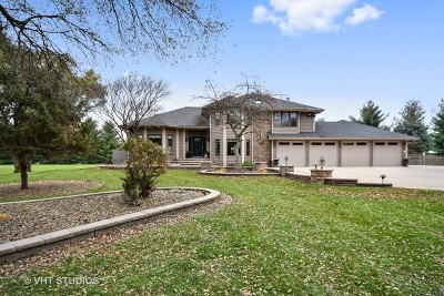 Kane County Single Family Home New: 5n737 Dunham Trails Road