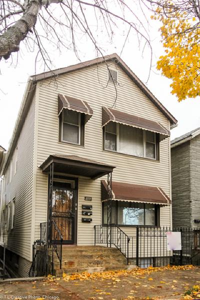 Chicago Multi Family Home New: 2719 South Emerald Avenue