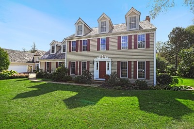Libertyville Single Family Home For Sale: 220 Carriage Hill Circle