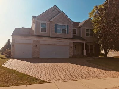 Bolingbrook Single Family Home New: 1523 Trails End Lane