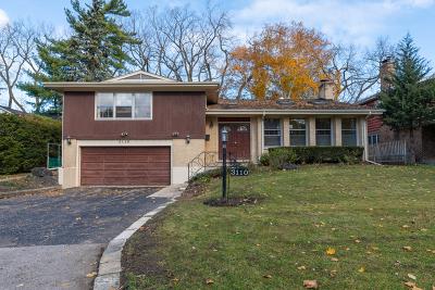 Wilmette Single Family Home For Sale: 3110 Hill Lane
