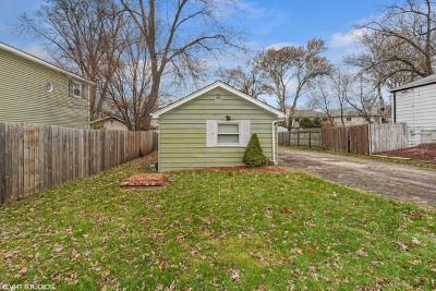 Downers Grove Single Family Home For Sale: 1034 Norfolk Street